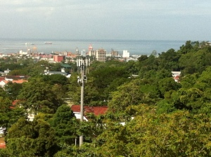 Trinidad - vew from 17 072813