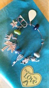 charm bracelet less beads
