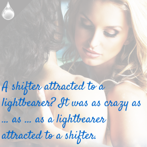 A shifter attracted to a lightbearer? Social Media Promo
