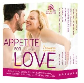Appetite For Love_Crimson Cover