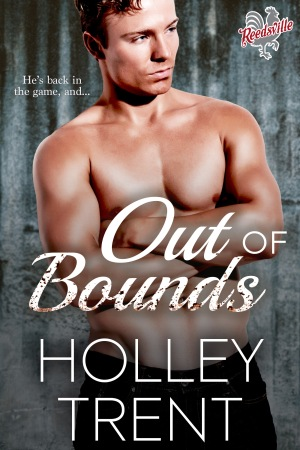 Out of Bounds mmf romance Holley Trent
