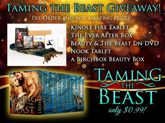 Taming the Beast new release contest