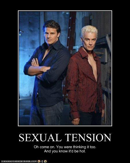 Buffy sexual tension meme